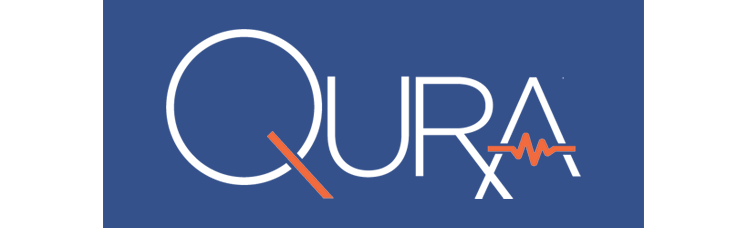 shows logo for Qura